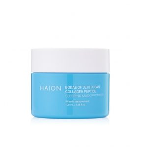 BOBAE of Jeju Ocean Collagen Peptide SLEEPING MASK (Night Booster)